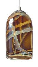 Milky Way Pendant Light by Rebecca Zhukov (Art Glass Pendant Lamp)