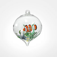 Clownfish by Steve  Scherer (Art Glass Ornament)