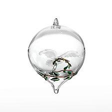 Peace Dove by Steve  Scherer (Art Glass Ornament)
