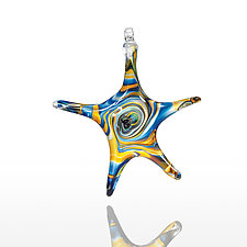 Starstruck by Mariel Waddell and Alexi Hunter (Art Glass Ornament)