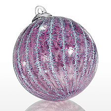 Lavender Frost by Jacob Pfeifer (Art Glass Ornament)