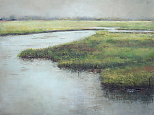 Beaufort Inlet by Victoria Primicias (Oil Painting)