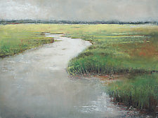 Pamlico Passages by Victoria Primicias (Oil Painting)