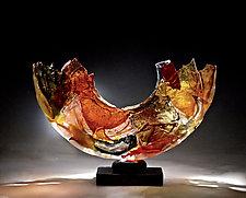 Memory by Caleb Nichols (Art Glass Sculpture)