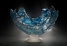 Overture by Caleb Nichols (Art Glass Sculpture)