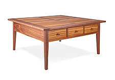 Walnut Coffee Table by Tom Dumke (Wood Coffee Table)