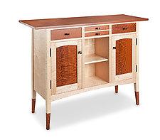 Leopard Console Cabinet by Tom Dumke (Wood Cabinet)