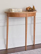 Cherry Demilune by Tom Dumke (Wood Hall Table)