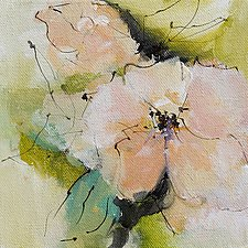 Floral I by Karen  Hale (Acrylic Painting)
