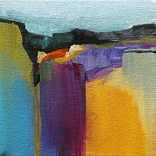 Color Play I by Karen  Hale (Acrylic Painting)