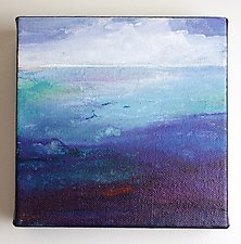 Out at Sea by Karen  Hale (Acrylic Painting)