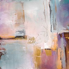 Hint of Gold by Karen  Hale (Acrylic Painting)