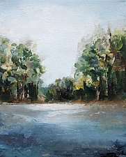 River's Edge by Karen  Hale (Acrylic Painting)
