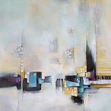 Scattered Shapes by Karen  Hale (Acrylic Painting)