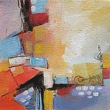 This Way and That I by Karen  Hale (Acrylic Painting)