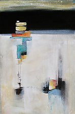 Stacked by Karen  Hale (Acrylic Painting)