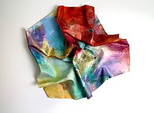 Dazzle by Karen  Hale (Painted Wall Sculpture)