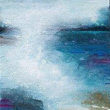 Through The Mist by Karen  Hale (Acrylic Painting)