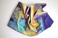 Curtain Call by Karen  Hale (Painted Wall Sculpture)