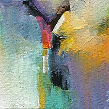 Color Excitement II by Karen  Hale (Acrylic Painting)