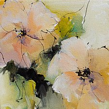 Floral II by Karen  Hale (Acrylic Painting)
