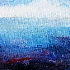 Oceanside 1 by Karen  Hale (Acrylic Painting)
