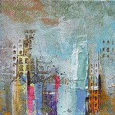 City Center 1 by Karen  Hale (Acrylic Painting)