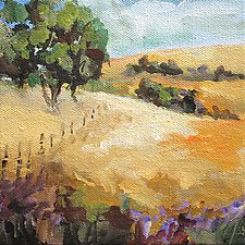 Open Space by Karen  Hale (Acrylic Painting)