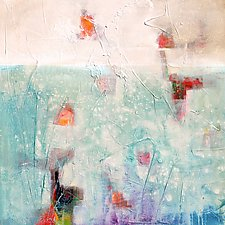 Unexpected 1 by Karen  Hale (Acrylic Painting)