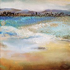 Across the Water by Karen  Hale (Acrylic Painting)
