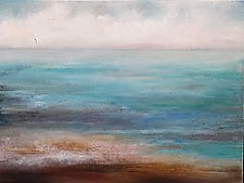 Water's Edge by Karen  Hale (Acrylic Painting)