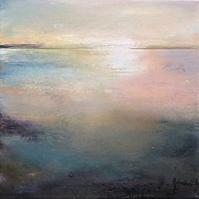Listen to the Silence by Karen  Hale (Acrylic Painting)