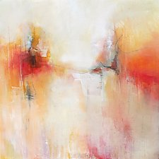 Dancing on the Edge by Karen  Hale (Acrylic Painting)