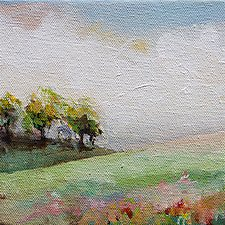 Sweet Summer Days I by Karen  Hale (Acrylic Painting)