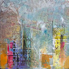 City Center 2 by Karen  Hale (Acrylic Painting)