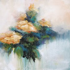 The Scent of Spring by Karen  Hale (Acrylic Painting)