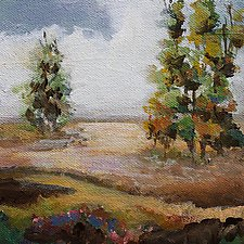 Country View by Karen  Hale (Acrylic Painting)
