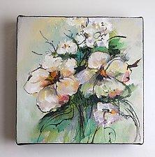 Bouquet 2 by Karen  Hale (Acrylic Painting)