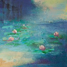 Pond by Karen  Hale (Acrylic Painting)