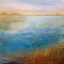 Waterway II by Karen  Hale (Acrylic Painting)