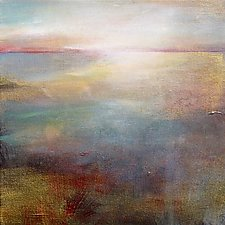 Surface Light by Karen  Hale (Acrylic Painting)