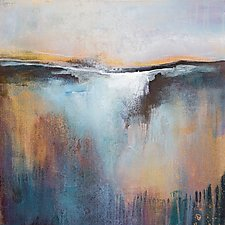 The Quiet Before the Dawn by Karen  Hale (Acrylic Painting)