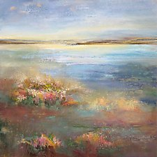 Gift of the Day by Karen  Hale (Acrylic Painting)