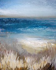 Summer At The Shore by Karen  Hale (Acrylic Painting)