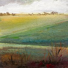 Open Field II by Karen  Hale (Acrylic Painting)