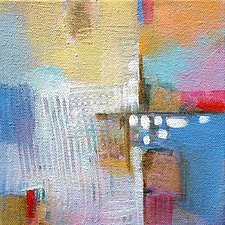 Dots and Dashes 2 by Karen  Hale (Acrylic Painting)