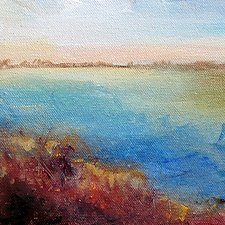 Riverside 2 by Karen  Hale (Acrylic Painting)