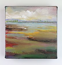 Land 6- 506 by Karen  Hale (Acrylic Painting)
