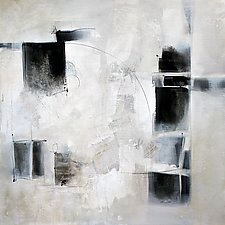 Black and White and In Between by Karen  Hale (Acrylic Painting)