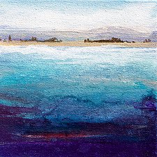 Sea View by Karen  Hale (Acrylic Painting)
